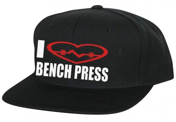 Кепка I LOVE BENCH PRESS
