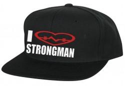 Кепка I LOVE STRONGMAN
