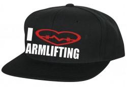 Кепка I LOVE ARMLIFTING
