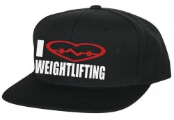 Кепка I LOVE WEIGHTLIFTING