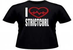 Футболка  I LOVE STRICTCURL