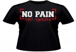 Футболка NO PAIN NO GAIN