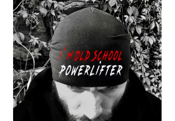Шапка i'm old school powerlifter