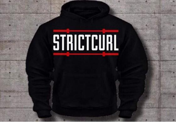 Толстовка STRICT CURL