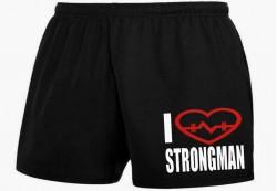 Шорты I LOVE STRONGMAN