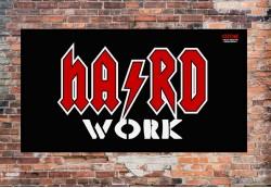 Баннер HARD WORK