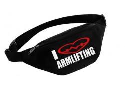 Поясная сумка I LOVE ARMLIFTING