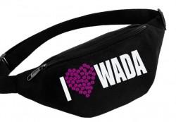 Поясная сумка  I LOVE WADA