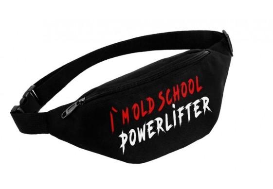 Поясная сумка I'M OLD SCHOOL POWERLIFTER