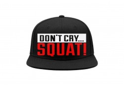 Кепка DON`T CRY SQUAT